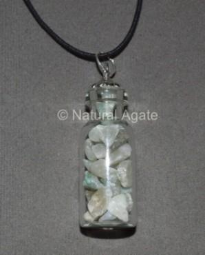 Green Aventurine Bottle Pendant