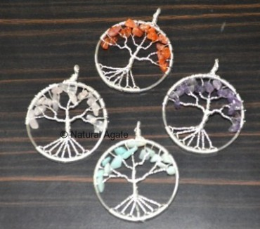 Mix Tree Pendants