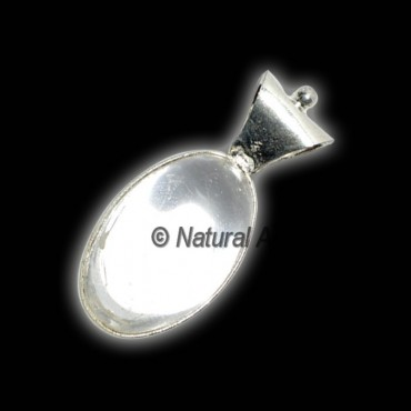 Crystal Quartz Lingam Pendants