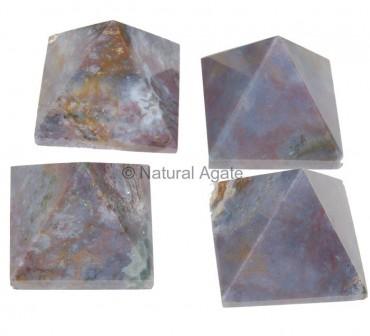Fancy Agate Pyramids