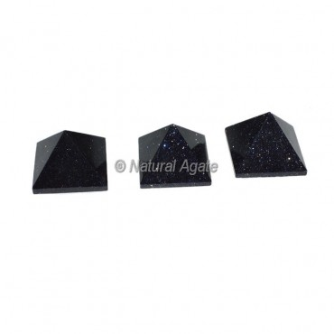 Black Sunstone Small Pyramids