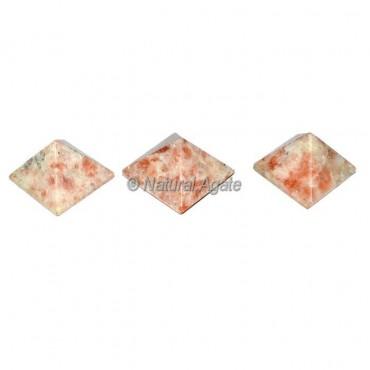 Sunstone Small Pyramids