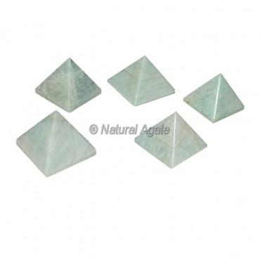 Amazonite Small Pyramids