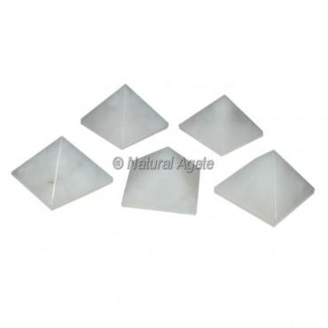 White Quartz Small Pyramids