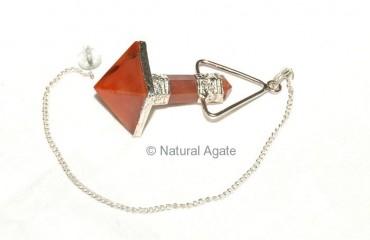 Carnellian Pyramid Pendulums