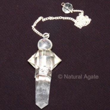 Crystal Quartz 3pcs Pendulums