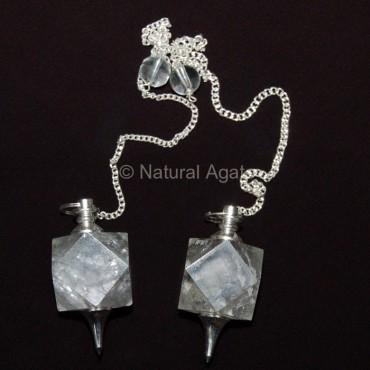 Crystal Quartz Dowsing Pendulums