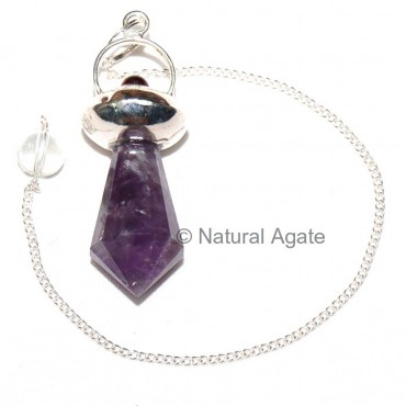 Amethyst Energy Pendulums