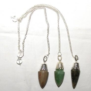 Mix Gemstone Plane Pendulums
