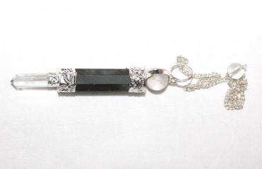Black Agate 3pcs Pendulums