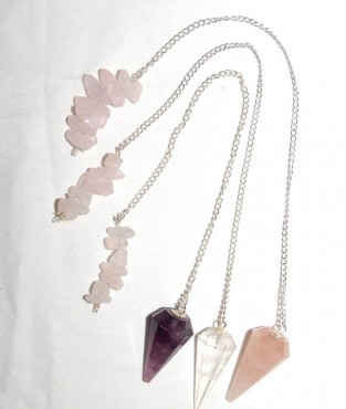 Quartz Healing Pendulums