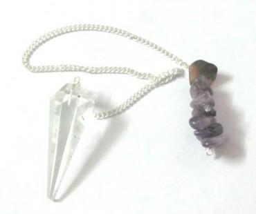 Crystal Quartz Energy Pendulums