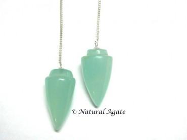 Aqua Onyx Plane Pendulums