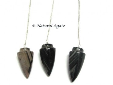 Black Onyx Plane Pendulums