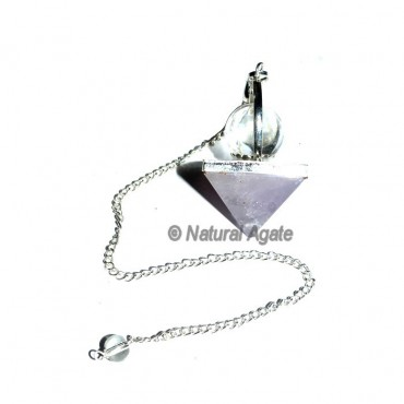 Amethyst Pyramids and Ball Pendulums