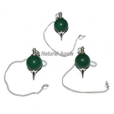 Green Aventurine Ball Pendulums