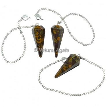 Snake Jasper Pendulums