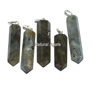 Labrodrite Pencil Pendants