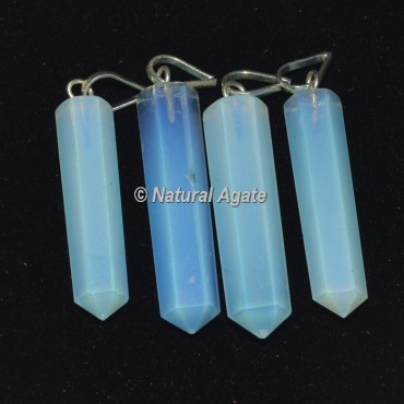 Opalite Pencil Pendants