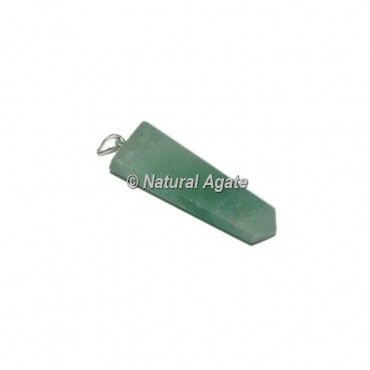 Green Aventurine Flat PencilPendants