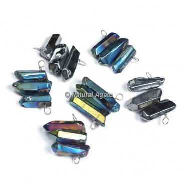 Aura Crystal Pencil Pendants