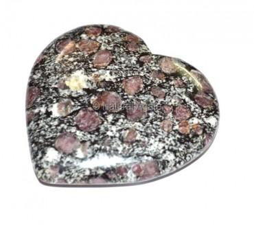 Ruby Matrix Puffy Heart