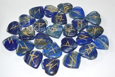 Lapis Heart Rune set