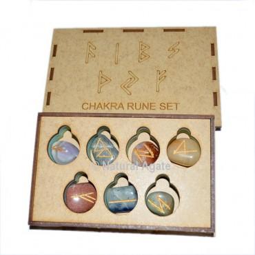 7 Chakra Rune Set With Gift Box