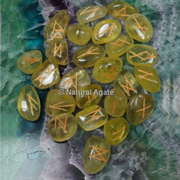 Lemon Citrine Rune Sets