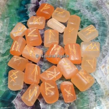 Orange Calcite Rune Sets