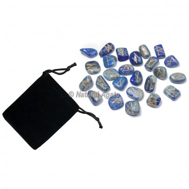 Lapis Lazuli Rune Sets with Pocket