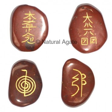 Red Jasper Usui Reiki Set