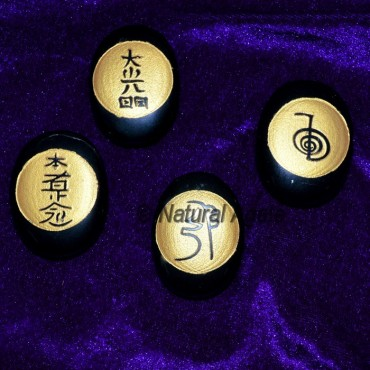 Double Embossed Usui Reiki Set