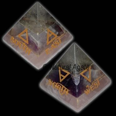Element Reiki Pyramid Set