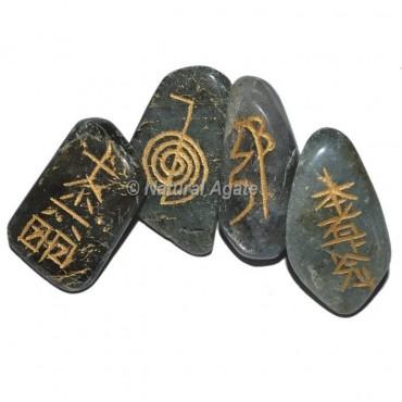 Labradorite Tumble stone Reiki Set