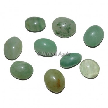 Green Aventruine Ring Cabochons
