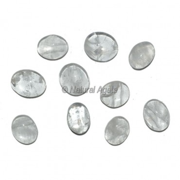 Crystal Quartz Ring Cabochons