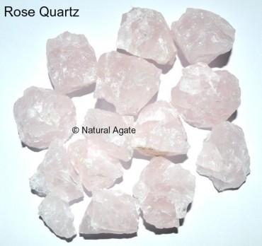 Rose Quartz Rough Tumbled