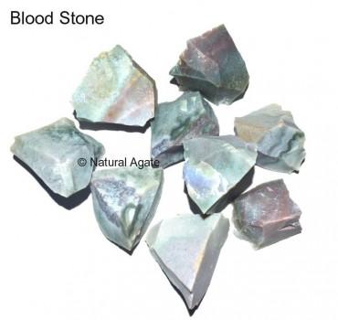 Blood Stone Rough Tumbled