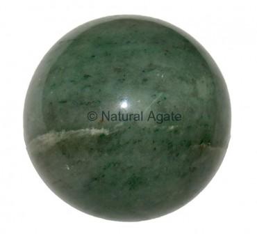 Green aventurine Spheres