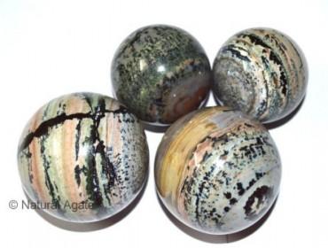 Dendritic Agate Spheres