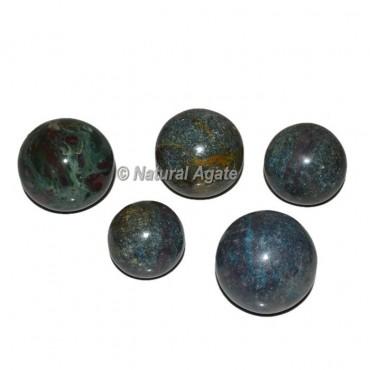 Ruby Stone Spheres