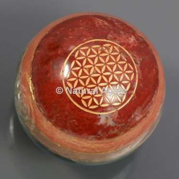 7 Chakra Bonded Flower Of Life Ball