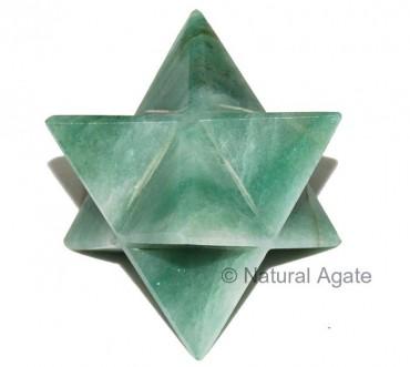 Green Aventurine 40-50 MM Merkaba Star