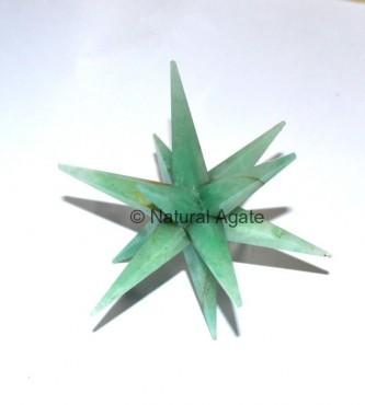 Green Aventurine 12 Point Star