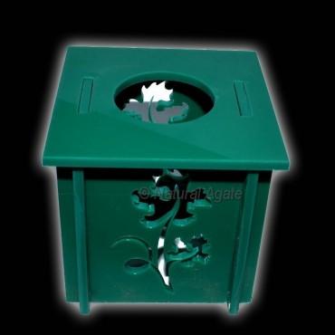 Green Ecralic Ball Stand