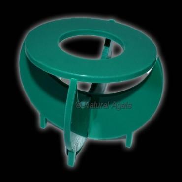 Green Round Folding Ecralic Ball Stand