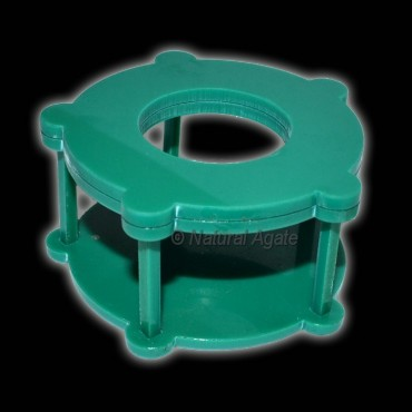 Green Color Ecralic Ball Stand