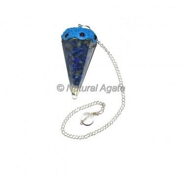 Lapis Lazuli Orgone Tibetan Pendulums