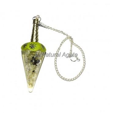 Crystals Quartz Tibetan Pendulums